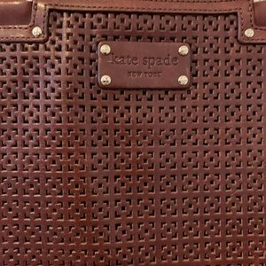 Vintage Leather Kate Spade New York Tote Bag